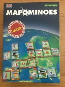 Mapominoes - Europe - The ultimate geography game