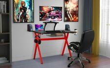 Lazzo Gaming Desk Red/Black