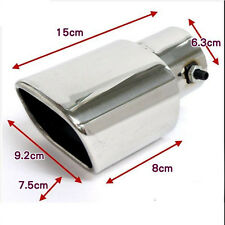 CAR ALLOY MUFFLER EXHAUST TAILPIPE TIPS Suit tailpipe size 40-55mm K5