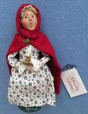 Byers Choice Caroler Colonial Girl Holding Candle Mint w Tag