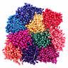 Heartfelt Creations Bright Pearl Stamens Small Paper Flowers