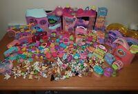 mega littlest pet shop bundle 107 figures houses loads accessories