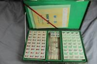 altes Mah Yongg Spiel im Koffer - OVP - arabische o. asiatische Zeichen /S253