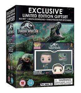 Jurassic World: Fallen Kingdom Limited Edition Gift Set (2 Funko Pocket POP! E