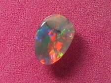 Bright Flashing Gorgeous Colour Pattern Natural Solid Black Opal 0.55 Carat.