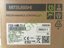 New In Box Mitsubishi FX3U-64MR/ES-A PLC FREE INTERNATIONAL SHIPPING