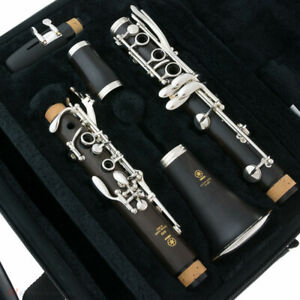 Brand New YAMAHA Clarinet - YCL 450 in SILVER PLATE - SHIPS FREE WORLDWIDE