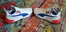 Puma Basketball White Red Blue Patriotic Mens New Hoops 192776-01 Sz 13 Sneakers