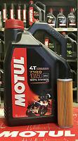 Kit Tagliando 4lt olio Motul 7100 10W50 + Filtro Olio 158 KTM Adventure 1190 cc