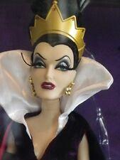EVIL QUEEN blanche neige Poupée Edition Limitée Disney Villains DESIGNER doll