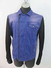 Richmond Denim Jacke Jeansjacke Jacket Lila mit Verlauf Gr.2XL - 3XL Stretch TOP