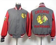 Extra Large Chicago Blackhawk Grey Jacket Brand New