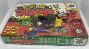 Pokemon Snap (Nintendo 64, 1999) N64 SEALED NEW NIB