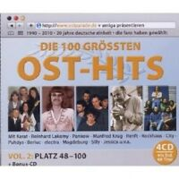 DIE ULTIMATIVE OSTPARADE- TOP 100 (FOLGE 2) 4 CD NEU