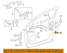 TOYOTA OEM Front Door-Lock Cover Right 6903502030
