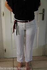 ORIGINAL pantalon coton viscose blanc MARITHÉ FRANCOIS GIRBAUD taille 40