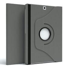 """Für Samsung Galaxy Tab S2 8.0"""" Schutz Hülle Tablet Tasche Etui 360° Grad Grau"""
