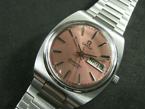 Classic OMEGA SEAMASTER Automatic Day Date Men's Watch Nice Collection