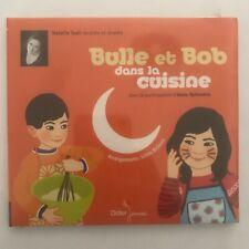 Bulle et bob dans la cuisine natalie trual cd neuf sous blister