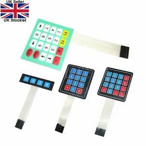 4 12 16 20 Key Membrane Switch Keypad 1x4 3x4 4x4 4*5 Matrix Array keyboard.