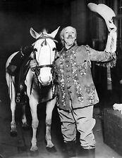 American Wild West Showman Buffalo Bill Cody & Horse 1915 7x5 Inch Reprint Photo