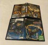 Ratchet & Clank Deadlocked & Going Commando Lot Sony PlayStation 2 PS2 TEEN NTSC