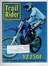 Trail Rider Motorcross Magazine Feb 2001 Yz250F Shift Yamaha