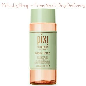 Pixi Glow Tonic 100ml Exfoliating Miracle Toner With 5% Glycolic Acid No Alcohol
