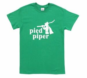 Adult Green Programmer Music App TV Show Silicon Valley Pied Piper Logo T-Shirt