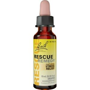 Bach Original Flower Remedies Rescue Remedy Dropper 0.35 fl oz Liquid.