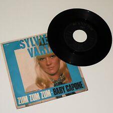 "SYLVIE VARTAN - ZUM ZUM ZUM - Italian Pop 7"" 45 EX- P/S - 1968 - A. Alessandroni"