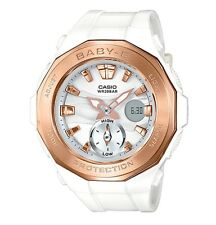 Casio Baby-G * BGA220G-7A Beach Glamping White w/ Rose Gold COD PayPal