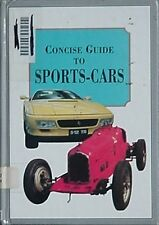 SPORTS CARS CONCISE GUIDE, 1994 BOOK (MANY COLOR PHOTOS INCLUDING RACING CARS