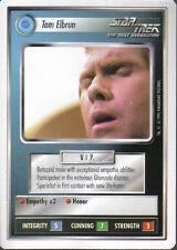 STAR TREK CCG WHITE BORDER PREMIERE 1995 BETA RARE CARD TAM ELBRUN