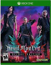 Devil May Cry 5 -- Deluxe Edition (Microsoft Xbox One, 2019)