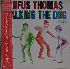 Rufus Thomas Walking The Dog Japan LP Warner Pioneer P-11439 Insert Obi