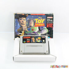 Toy Story - Boxed - GOOD - TESTED - Super Nintendo SNES Game PAL