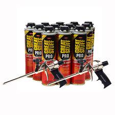 Dow Great Stuff Pro Gaps And Crack 24 Oz Case Of 12 Cans 2 Pro Foam Gun