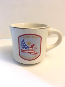 Vintage Boys Scouts Mug - Camp Oyo - Sciota Area Council -1976 OHIO SCOUTS