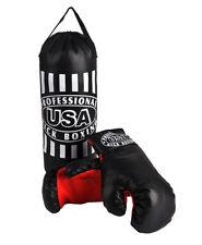 Boxset Boxsack gefüllt Boxhandschuhe Handschuhe Kinder Kids Training Sport