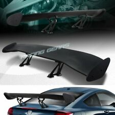 "UNIVERSAL 57"" WING DRAGON-2 STYLE BLACK ABS GT TRUNK ADJUSTABLE SPOILER WING"