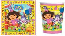 Dora the Explorer 'A Party' Party Set 16 Napkins & 8 Hot/Cold Paper Cups