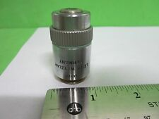 MICROSCOPE PART OBJECTIVE LEITZ GERMANY HL 20X INFINITY OPTICS AS IS BIN#65-48