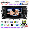 2 Din Android 9.0 Car Radio GPS for Ford Focus Mondeo S-Max C-Max Galaxy II Kuga