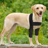 Dog Canine Front Leg Brace Paw Compression Wraps Protect Wounds for Labrador S-L