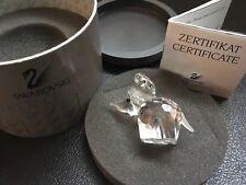 Swarovski Silver Crystal Elephant c/w Box and Certificate (Retiried) 151489