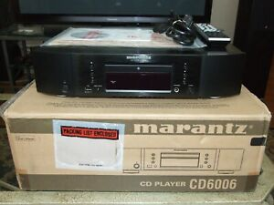 MARANTZ CD6006 CD Player MINT CONDITION with Box & ALL Accessories