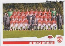 N°512 EQUIPE TEAM SQUADRA # AS.NANCY STICKER FOOT 2014 PANINI
