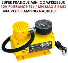 IMPERATIF EN RAID 4X4 ! MINI COMPRESSEUR12V 39L/MN A TOUJOURS AVOIR EN SECOURS
