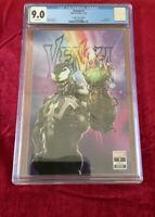 Venom #7 Clayton Crain CGC 9.0 Infinity Gauntlet Variant 1rst Dylan Brock